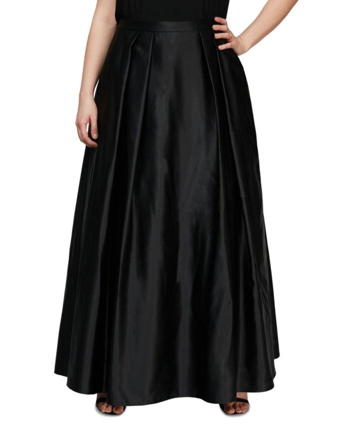 Alex Evenings Plus Size Satin Ball Gown Skirt & Reviews - Dresses - Plus Sizes - Macy's