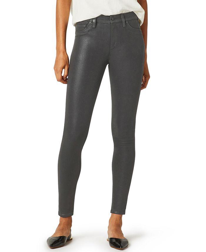 Hudson Jeans - Barbara Coated Skinny Jeans