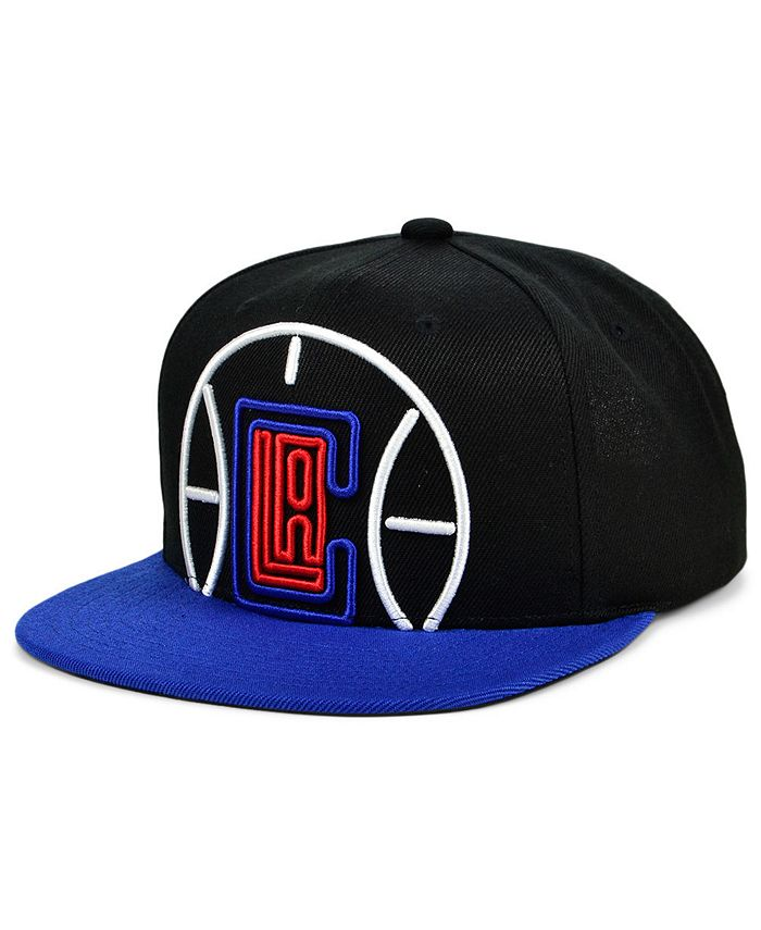 Mitchell & Ness - Los Angeles Clippers Neon Crop XL Snapback Cap