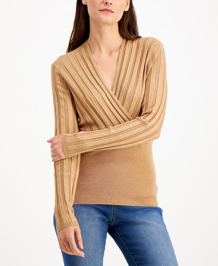 INC International Concepts - Surplice Sweater