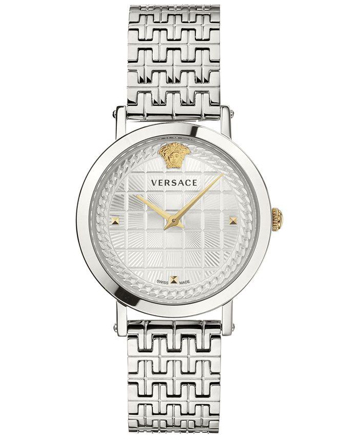 Versace - Women's Swiss Medusa Chain Stainless Steel Bracelet Watch 37mm