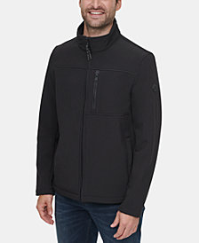 Calvin Klein Men's Soft Shell Open Bottom Jacket
