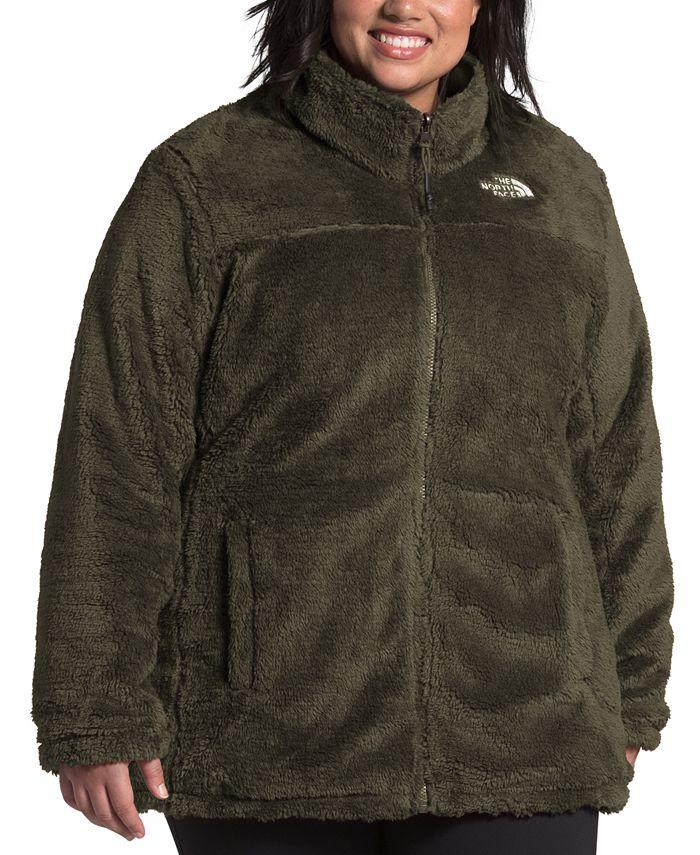 The North Face - Women's Plus Size Mossbud Reversible Fleece Jacket