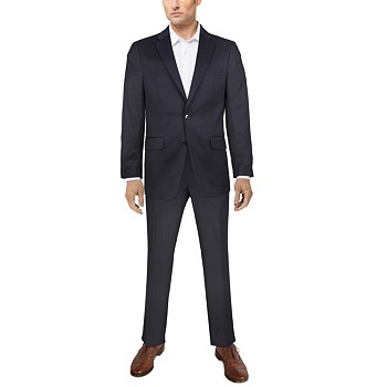 Van Heusen Flex Plain Men's Slim-Fit Suit