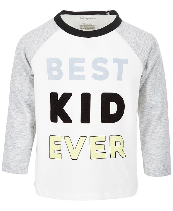 First Impressions Baby Boys Best Kid Ever T-Shirt, Created for Macy's