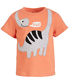 First Impressions Baby Boy Rawr Dino Tee, Created for Macy's