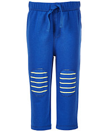 First Impressions Baby Boys Knee-Patch Leggings, Created for Macy's