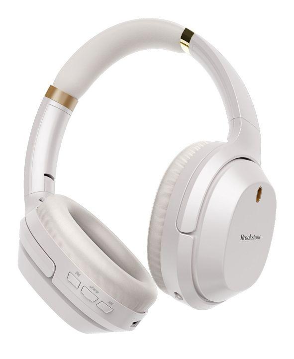 Brookstone Active Noise Cancelling Bluetooth Headphones
