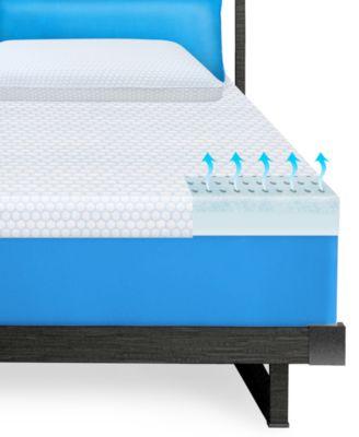 Sensorgel 1 5 Gel Memory Foam Twin Xl Mattress Topper