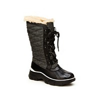 Deals on JBU Womens Lorina Mid-Calf Winter Boot