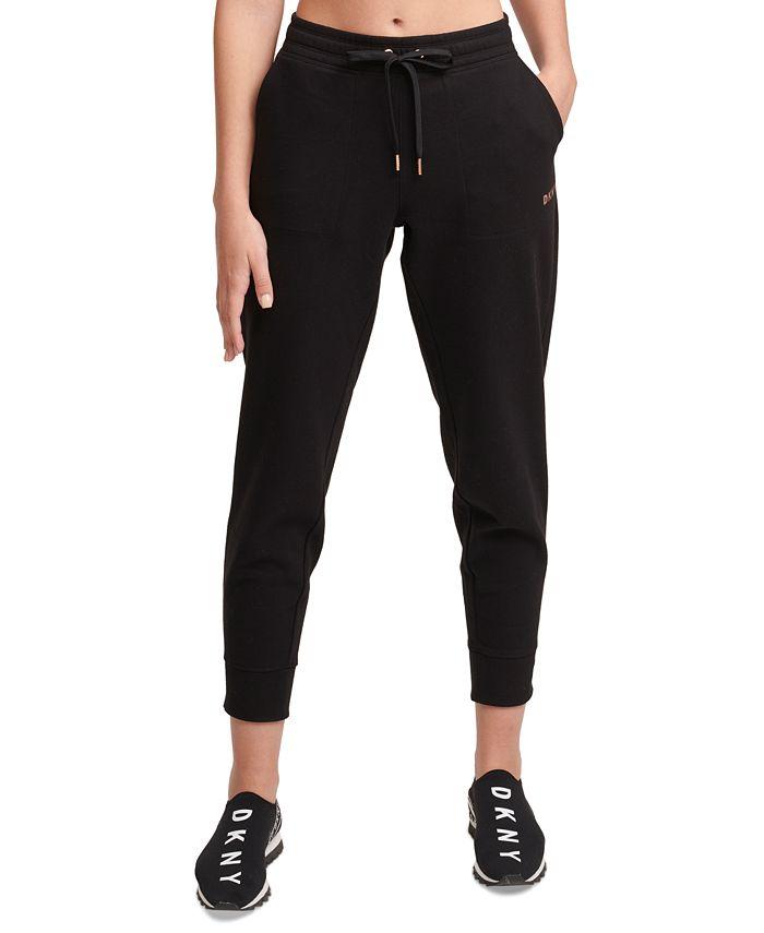 DKNY - Metallic-Logo Jogger Pants