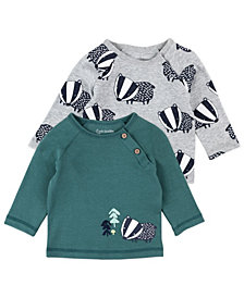 Mac & Moon Baby Boy 2pk LS Tops