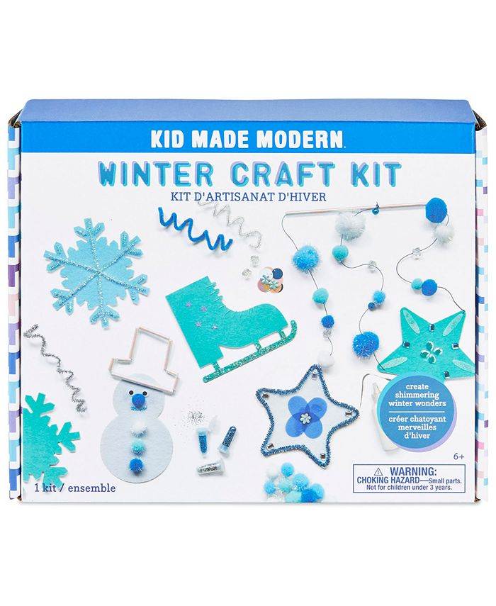 Kid Made Modern - Snow Craft Kit