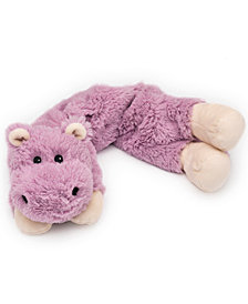 Warmies Microwavable Scented Hippo Plush Wrap