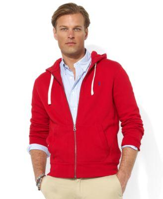 Polo Ralph Lauren Hoodie, Core Full Zip Hooded Fleece
