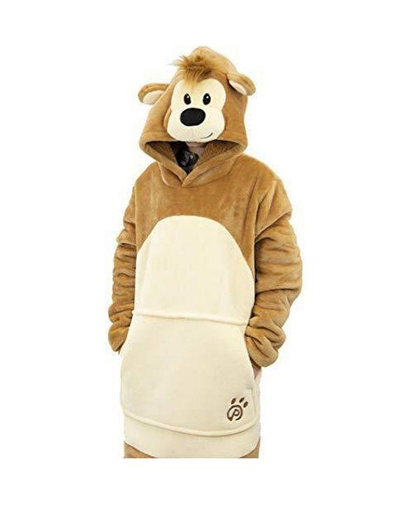 Plushible Pawley Bear Blanket Sweatshirt