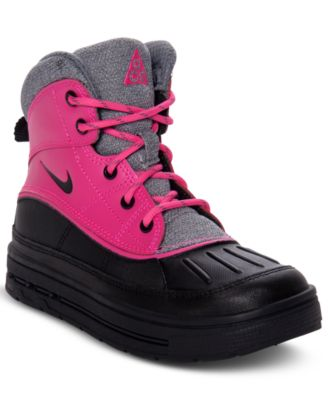 kids nike woodside boots