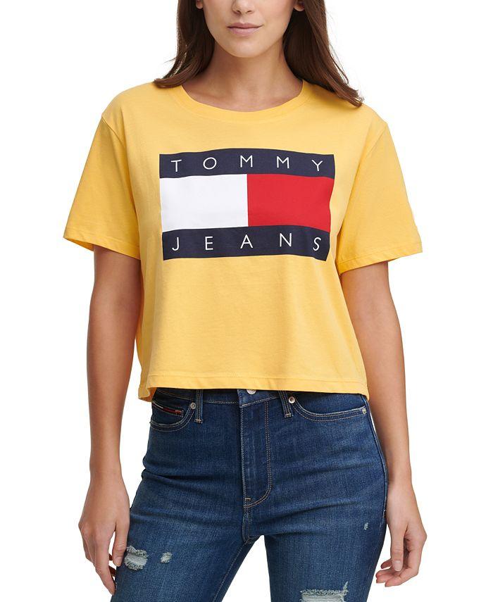 Tommy Jeans - Cotton Flag Logo T-Shirt