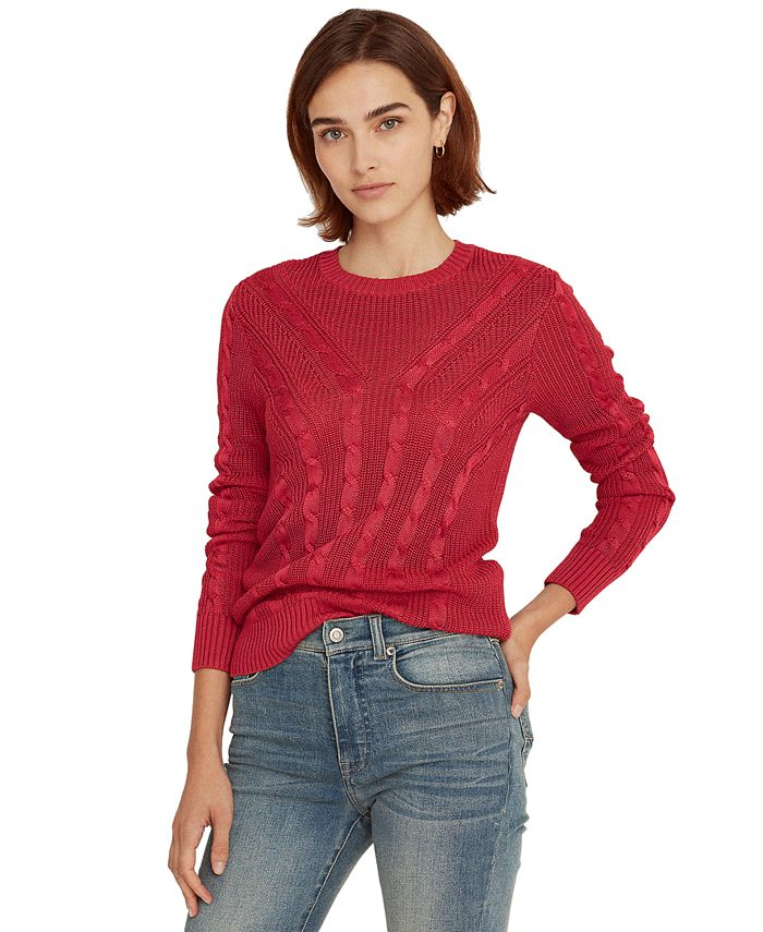 Lauren Ralph Lauren - Cable-Knit Top
