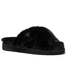 Michael Michael Kors Lala Furry Slippers