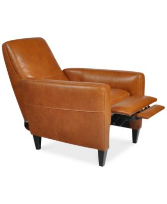 Nice Asher Leather Recliner Chair