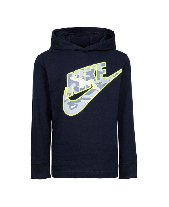 Nike Toddler Boys Hooded Logo Top