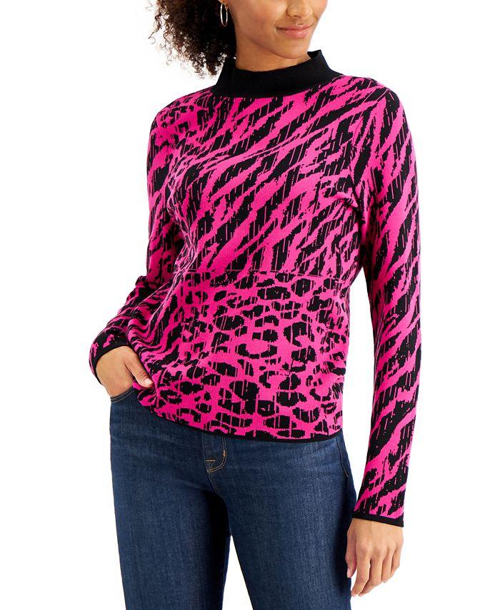 Willow Drive - Animal-Print Sweater