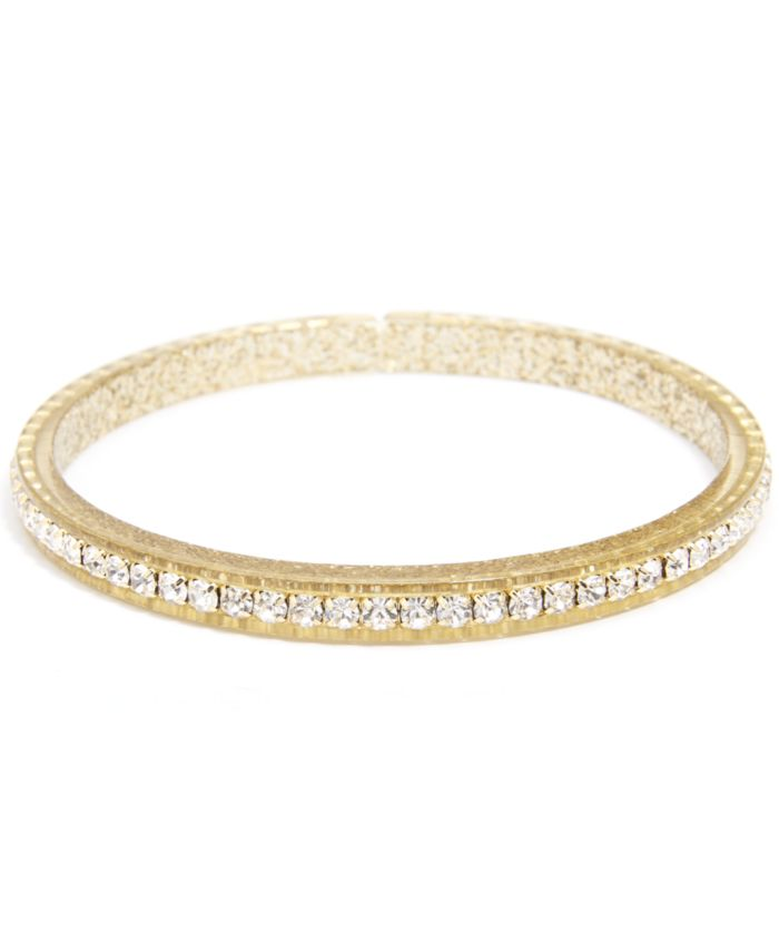 Zenzii Crystal-Embellished Colored Bangle Bracelet & Reviews - Rings - Jewelry & Watches - Macy's