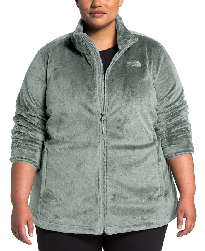 The North Face - Plus Size Osito Full-Zip Jacket