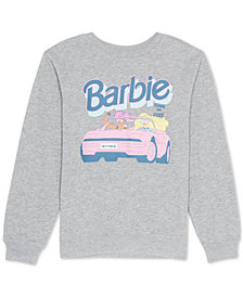 Love Tribe Juniors Barbie Graphic Print Sweatshirt