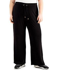 Calvin Klein Plus Size Drawstring Pants
