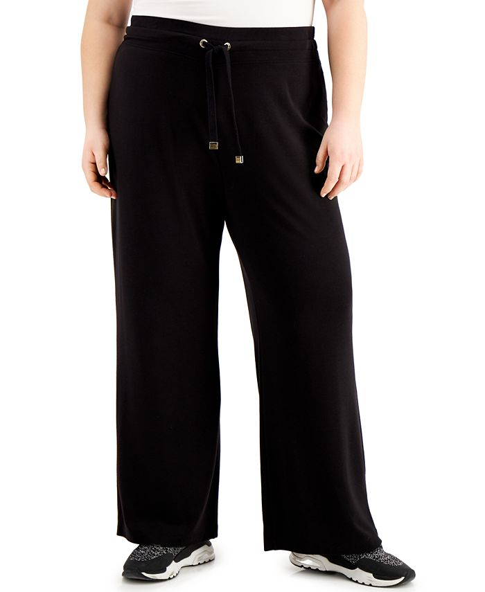 Calvin Klein - Plus Size Drawstring Pants
