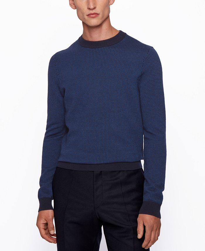 Hugo Boss - Men's Maddeo Slim-Fit Sweater