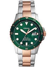 Fossil Men's FB-01 Sport Two-Tone Bracelet Watch 42mm