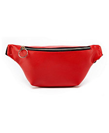 LIKE DREAMS Basic Polyurethane Fannypack