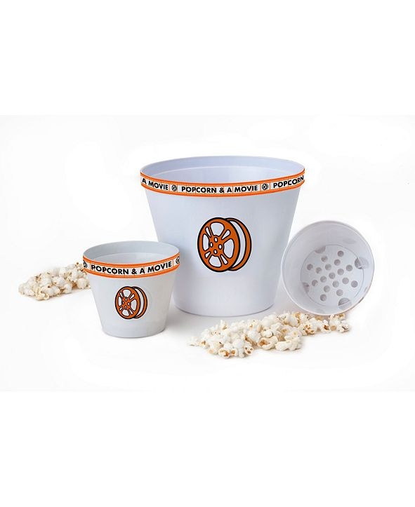 Wabash Valley Farms Popcorn and A Movie Bowl Set, 3 Pieces