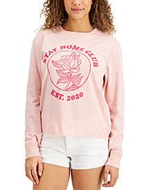 Self Esteem Juniors' Drop-Shoulder Graphic T-Shirt