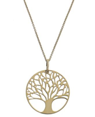 Giani bernini 24k gold over sterling silver tree of life pendant giani bernini 24k gold over sterling silver tree of life pendant necklace aloadofball Choice Image