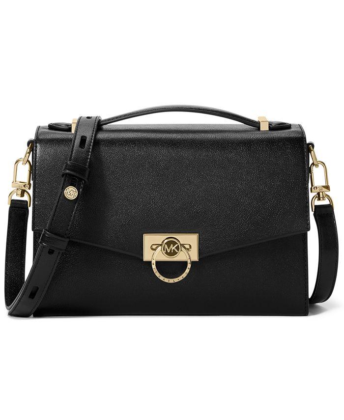Michael Kors - Hendrix Medium Leather Messenger Bag
