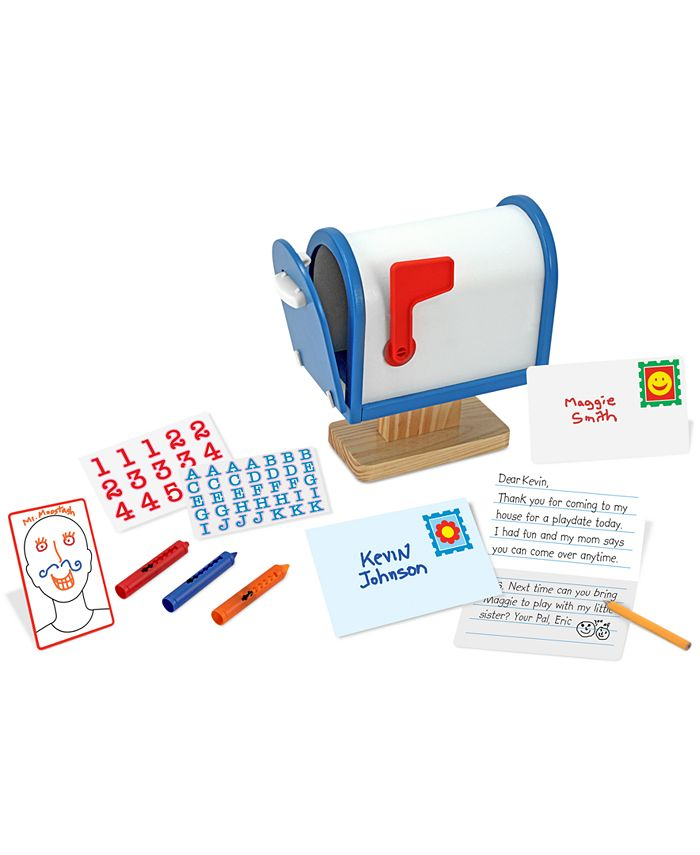 Melissa and Doug - Kids Toy, My Own Mailbox Set