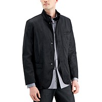 Deals on Alfani Mens Textured Hybrid Sportcoat