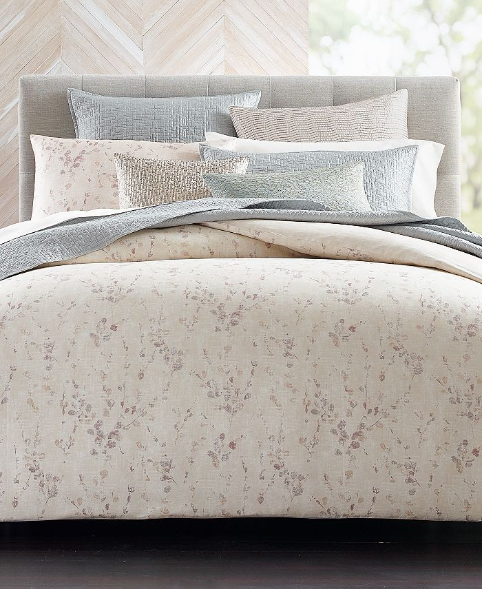 Hotel Collection - Willow Bloom King Duvet, Created for Macy's