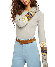 Free People In The Mix Cuff Thermal Top