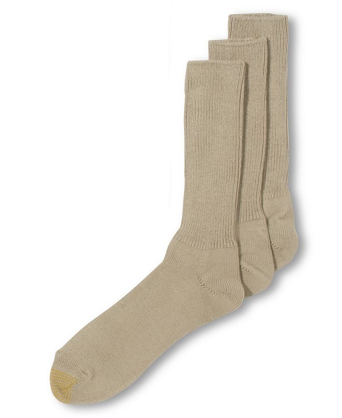 Gold Toe - ADC Acrylic Fluffies 3 Pack Crew Casual Socks