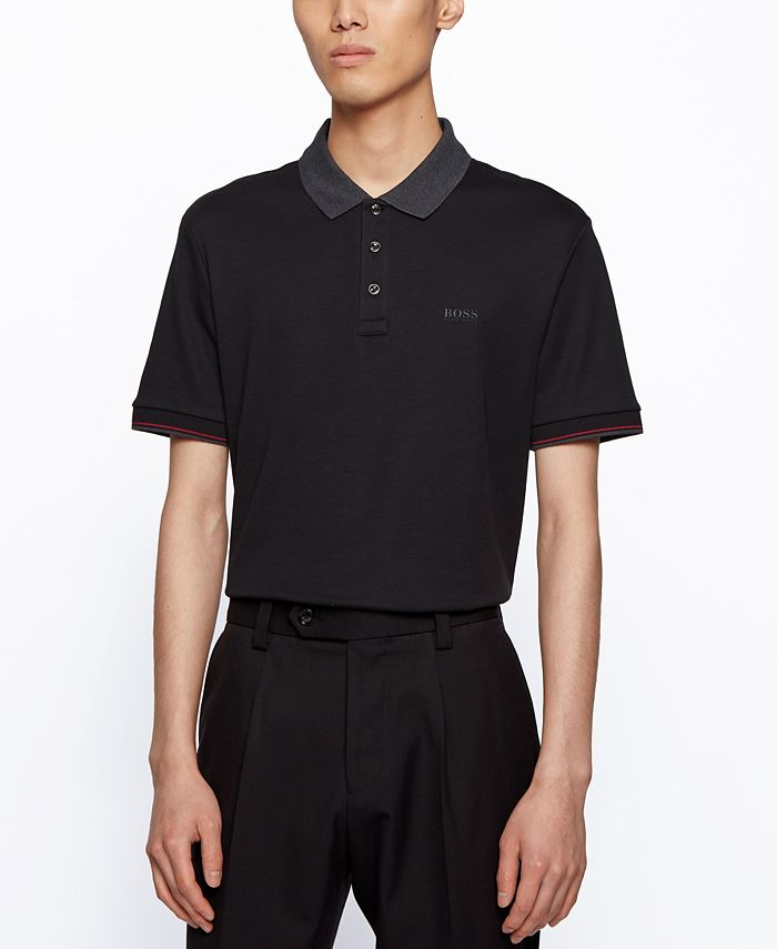 Hugo Boss - Men's Parlay Regular-Fit Polo Shirt