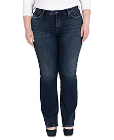 Silver Jeans Co. Plus Size Avery Slim Bootcut Jeans