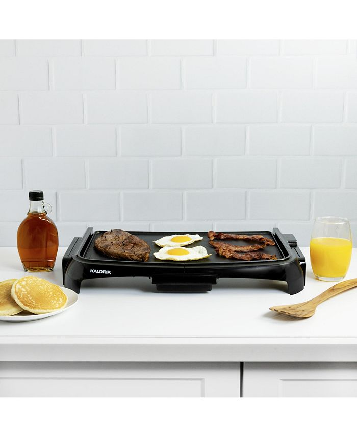 Kalorik 10 X 16 Electric Griddle Reviews Small Appliances Kitchen Macy S
