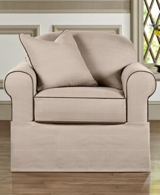 High Quality Sure Fit Bahama 2 Piece Chair Slipcover