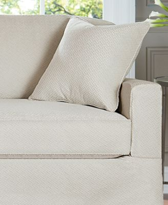 Sure Fit Stretch Sofa Jacquard Damask 2 Piece Sofa
