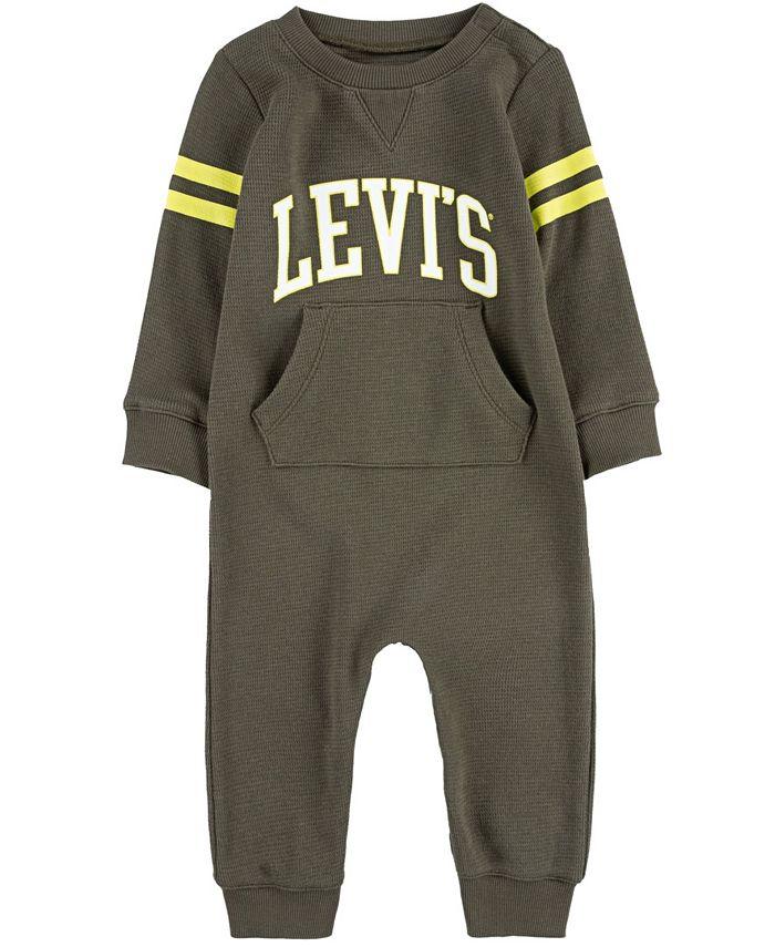 Levi's - Baby Boys Collegiate Knit Coverall